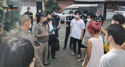 Police arrest students