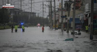 flood in thailand 2564