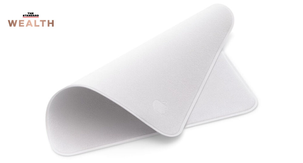 Apple screen cleaning cloth