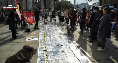 UK Thai protest