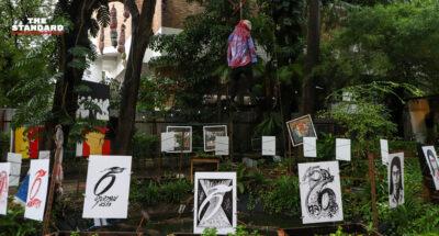 Various art exhibitions democracy art
