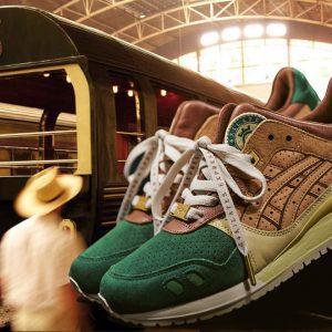 แบรนด์สนีกเกอร์ปล่อยรองเท้ารุ่นพิเศษ จากแรงบันดาลใจรถไฟสายหรู กรุงเทพฯ-สิงคโปร์
