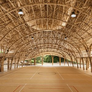 ไม้ไผ่ก็เก๋ได้ โรงยิมจากไม้ไผ่ที่เชียงใหม่ ดีไซน์ล้ำสำหรับทุกคนในชุมชน