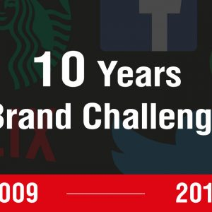 10 Years Brand Challenge ความเปลี่ยนแปลงของแบรนด์ต่างๆ ในรอบ 10 ปี