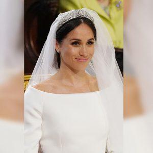 Meghan Markle สวยสง่าในชุดแต่งงานของห้องเสื้อ Givenchy